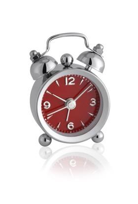 Tfa Elektronik Alarmlı Saat - Bordo