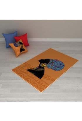Erenev 8227 80x120 Arap Kızı Desenli Halı