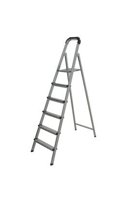 EROL Teknik Tuarek 5 Basamaklı Statik Gri Merdiven