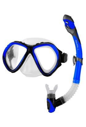 Aqua Speed Zona+Elba Snorkel Set