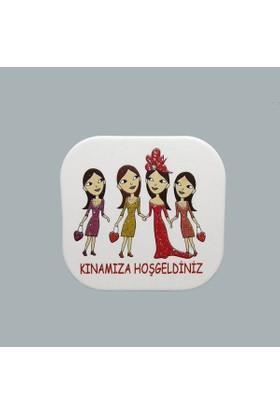 Tahtakale Toptancısı Sticker Karton Kınamıza Hoşgeldiniz (50 Adet)
