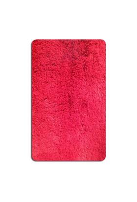 MarkaEv Tavşan Tüyü Banyo Halısı - Kırmızı