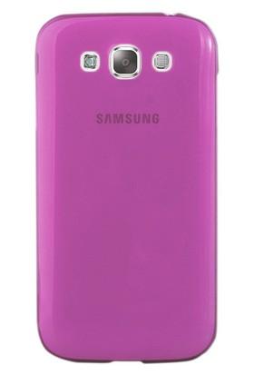 CoverZone Samsung Galaxy E7 Kılıf 0.3mm İnce Silikon Pembe