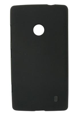 CoverZone Nokia X Kılıf Silikon Siyah