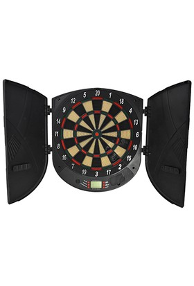 Spor724 ED606 Elektronik Dart Tahtası-26 Oyunlu Kabinli