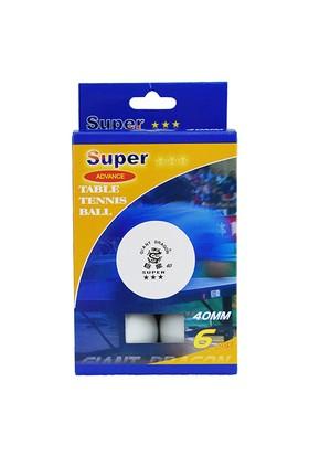 Spor724 Giant Dragon Super 3 Yıldız Masa Tenisi Topu Beyaz