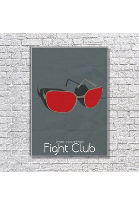 Albitablo Poster Love Fight Club 1 Kanvas Tablo