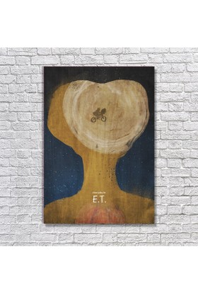 Albitablo Poster Love E.T. Kanvas Tablo