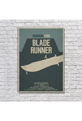 Albitablo Poster Love Blade Runner 1 Kanvas Tablo