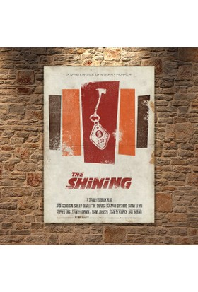 Albitablo Poster Love The Shining Kanvas Tablo