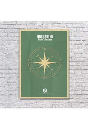 Albitablo Poster Uncharted Kanvas Tablo