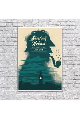 Albitablo Poster Sherloc Holmes Kanvas Tablo