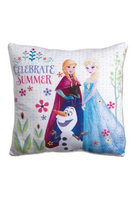 Frozen Celebration Summer Square Cushion