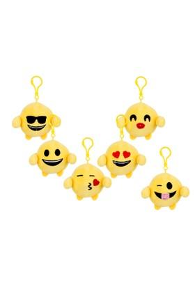 Emoji Plush Anahtarlık Gözlüklü 7 cm