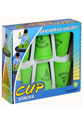Başel Cup Stacks Yeşil
