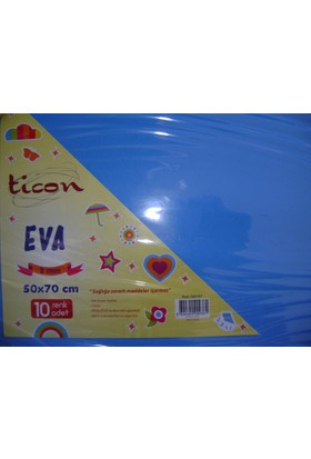 Ticon Eva 2Mm 50*70Cm Mavi