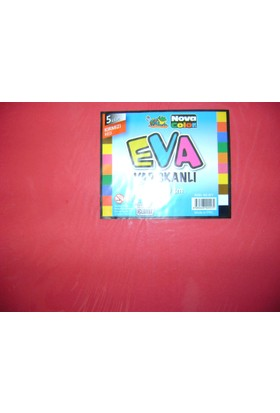 Nova Color Yapışkanlı Eva 2Mm 50*70Cm Kırmızı