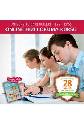 Online Hızlı Okuma Kursu (LYS - KPSS Üniversite Öğrencileri Grubu )