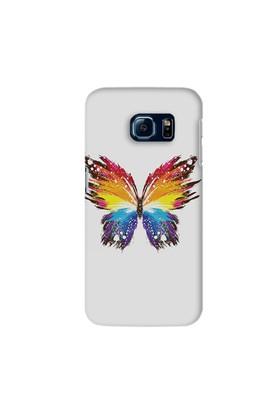Kapakcenneti Butterfly Watercolor Galaxy S7 Edge