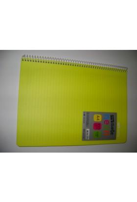 My Note Neon A4 100Yp Çizgili Pp Kapak