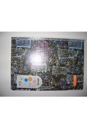 My Note A4 60Yp Çizgili Desenli Pp Kapak