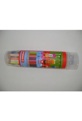 Stabilo Color 24'lü Plastik Tüp
