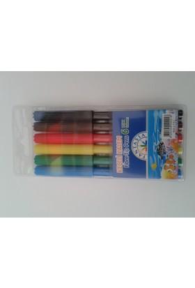 Fantasia Keçeli Kalem 6 Renk Barkod