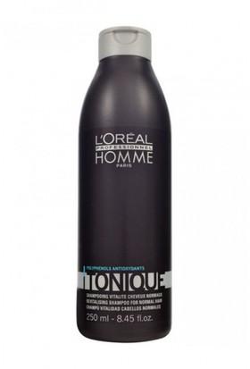 Loreal Paris Homme Tonique Erkeklere Özel Normal Saçlar İçin Yeniden Canlandıran Şampuan 250 Ml