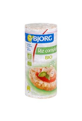 Rice Cakes 130G Export - Organik Glutensiz Bütün Pirinç Topakları