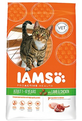 Iams Adult Lamb Yetişkin Kedi Maması 1,5 Kg