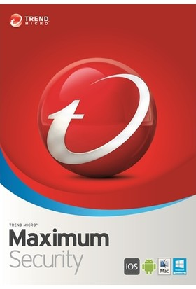 Trend Micro Maximum Security - 3 Bilgisayar / 1 Yıl