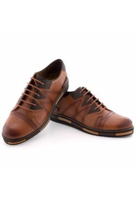 Güvenal Bağcıklı Taba Sportif Günlük Erkek Ayakkabı