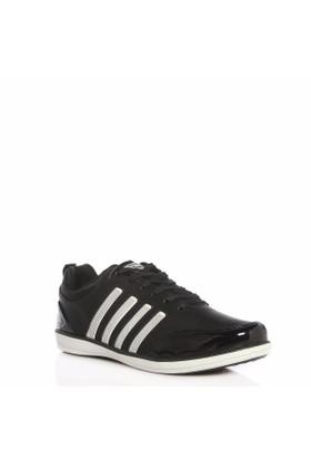 Wickers Siyah Bağcıklı Günlük Erkek Spor Ayakkabı