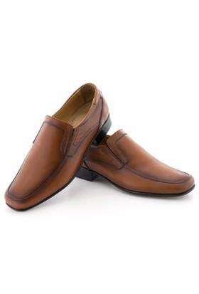 Özcoşkun Taba Lastikli Klasik Erkek Ayakkabı