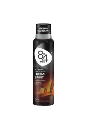 8X4 Urban Spirit 150 Ml Erkek Deodorant