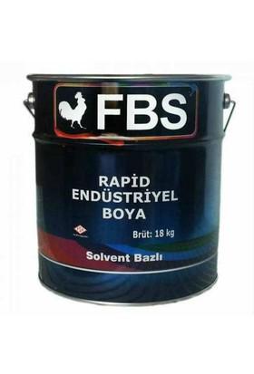 Fbs Rapid Endüstriyel Boya Siyah 16 Kg