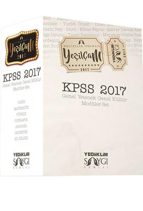 Yediiklim Yayınları 2017 Kpss Genel Kültür Genel Yetenek Konu Anlatımlı Modüler Set-Kolektif