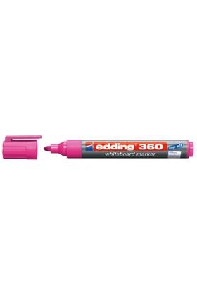 Edding Beyaz Tahta Kalemi Cap Off E-360 Pembe