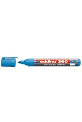 Edding Beyaz Tahta Kalemi Cap Off E-360 A.Mavi