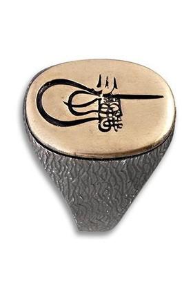 Anıyüzük Osmanlı Tuğralı Fetih Yüzüğü (Fetih 1453)