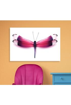 Arse Pembe Yusufçuk Dekoratif Kanvas Tablo 50x70 cm