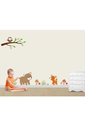Besta Minik Hayvanlar Duvar Sticker
