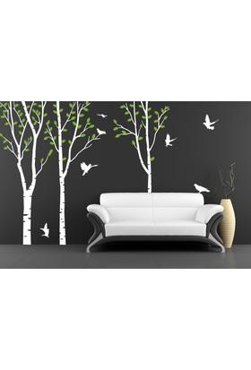 Besta Beyaz Orman Duvar Sticker