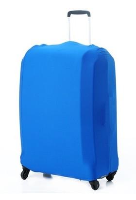 Vk Tasarım Valiz Kılıfı Mavi