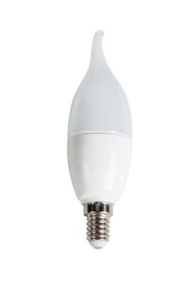 7 Watt Ledli Buji Ampul E14 Duylu Beyaz Işık