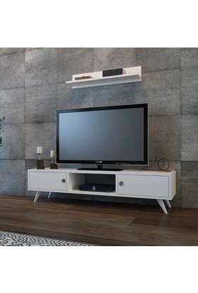 Minar Aspen Tv Ünitesi - Beyaz