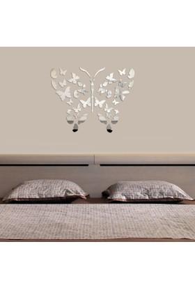 Dekorjinal Dekoratif Kırılmaz Ayna Kelebek - MRR007