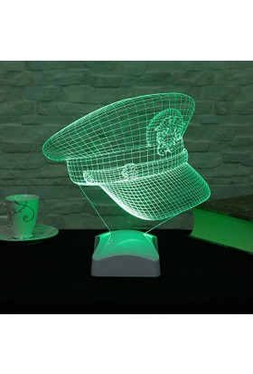 Dekorjinal 3 Boyutlu Şapka Lamba V23D167