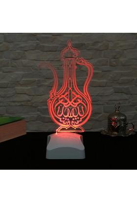 Dekorjinal 3 Boyutlu Maşallah Lamba V23D109