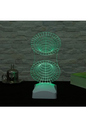 Dekorjinal 3 Boyutlu Geometrik Lamba V23D003